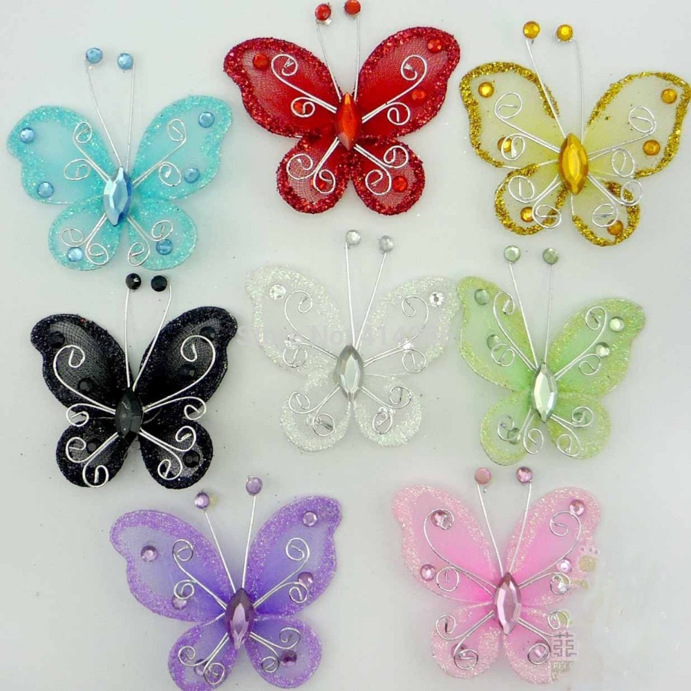 Online get cheap butterfly wedding decorations aliexpress for Butterfly wedding
