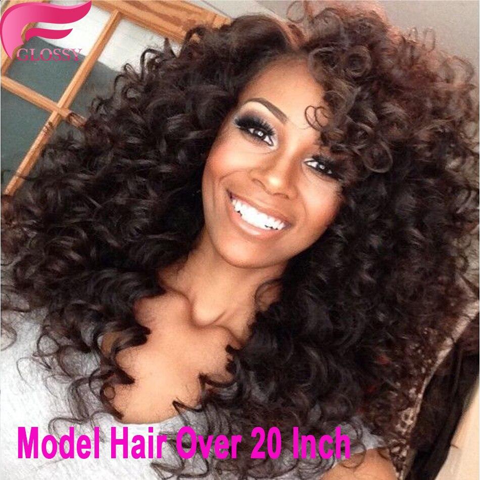us $63.69  7a brasilianische verworrene lockige jungfrau haar 3 bundles spirale curl kurze menschliche haarwebart brasilianische verworrene lockige
