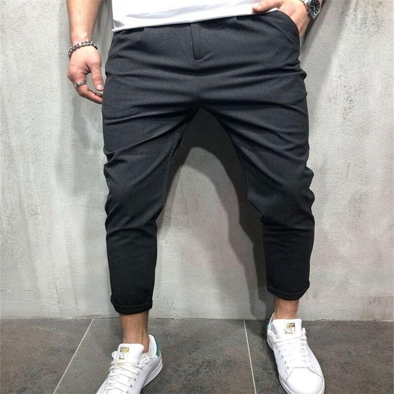Mlen Vogue Solid Koreaanse Stijl Potlood Broek Jongens Man Slim Fit Straight Leg Harembroek Broek Toevallige Jogger Cargo Broek Hot Mooi En Kleurrijk