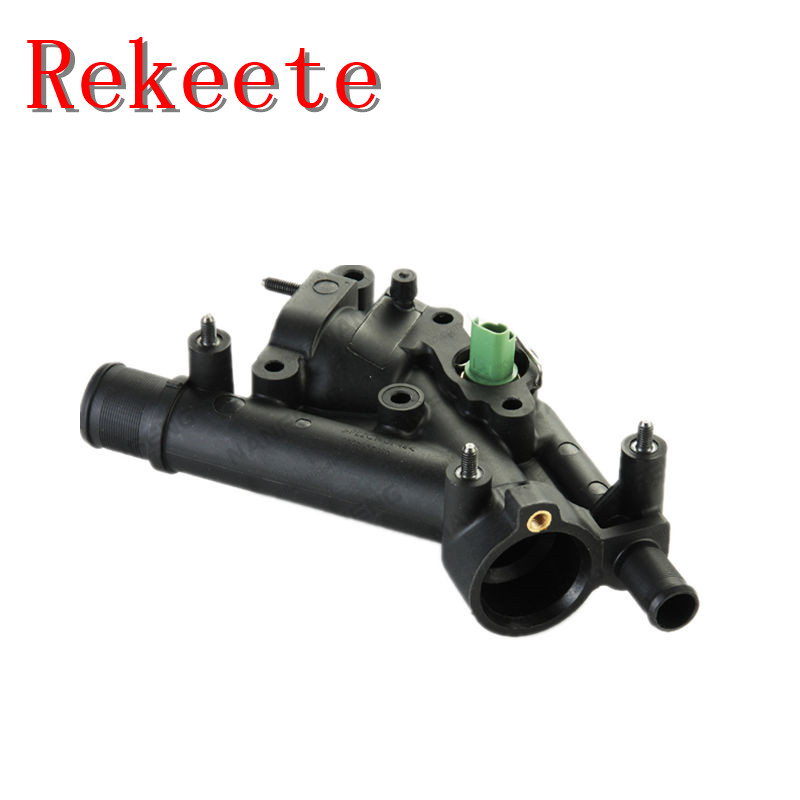 1pcs Auto Cooling System Thermostat For Peugeot 307  407
