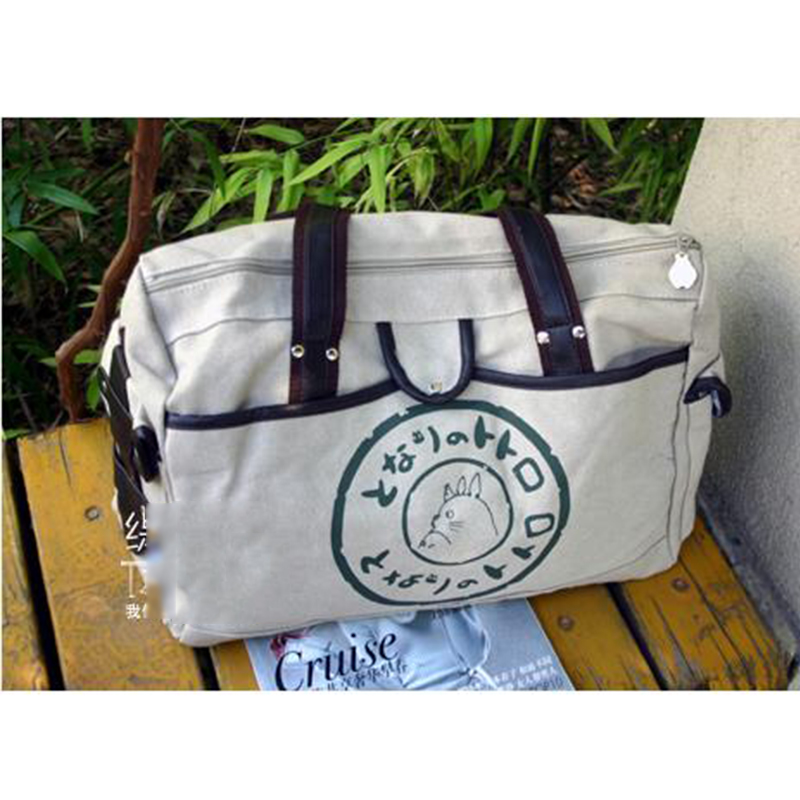 New Arrival Anime My Neighbor Totoro Canvas Satchel Teenagers Schoolbag Unisex font b Handbag b font