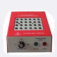 24 Port Glasfaser Epoxy Härteofen/Fiber Optic Wärmeofen/Epoxy Aushärten Ausrüstung