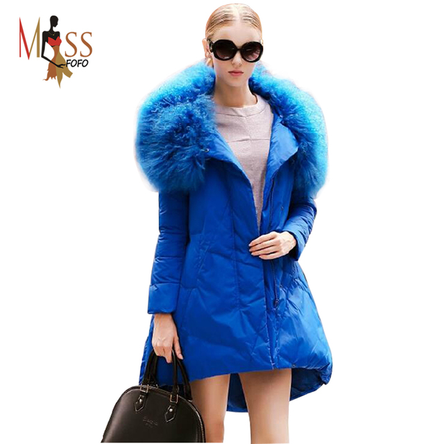 Online Shop 90% Duck down 2016 new winter women's Elegant Feminine ...