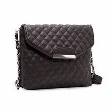 Fashion Women Shoulder Bag Leather Clutch Handbag Tote Purse Rhomboids Grid Messenger Bag qiaobao large size handbag bag real leather brand tote bag fashion tassel luxurious handbag purse women