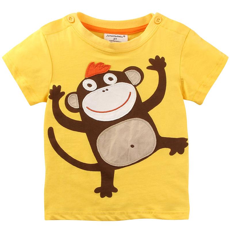 HTB1wtm2Xf1TBuNjy0Fjq6yjyXXaT - brand 2018 new fashion kids clothing 100%cotton blouse childrens clothes baby boy t shirts boy's top tee cartoon car Dinosaur