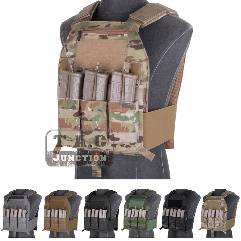 Emerson LBX-4019 Armatus Slick Plate Carrier EmersonGear Body Armor Tactical Lightweight Adjustable Molle Combat Vest emerson tactical lbx 4020 a2 armatus ii slick plate carrier emersongear adjustable vest lightweight body armor w m4 mag pouch