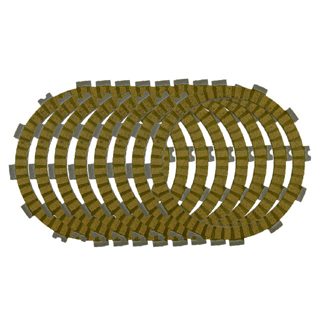 Motorcycle Clutch Friction Plates Set for HONDA CR250R CR250 R 1983-2007 Clutch Lining #CP-00037