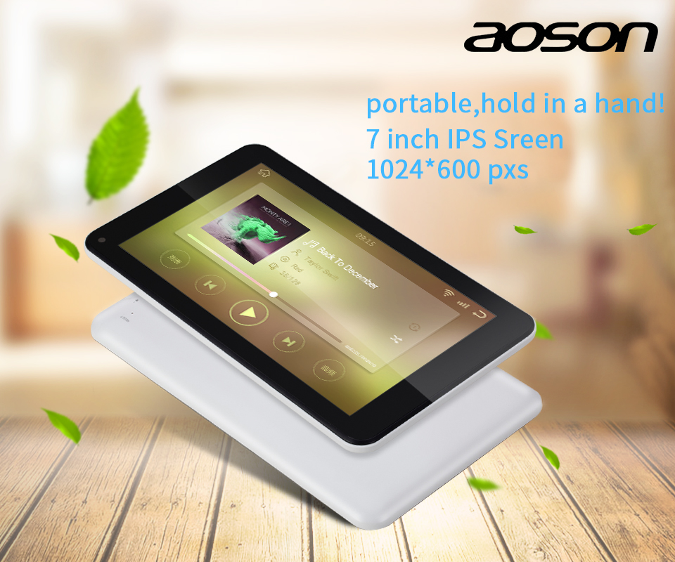7 Inch Tablet Pc Aoson M753 Tablets 1gb+16gb Android 7.1 Quad Core Dual Cameras Bluetooth Wifi Multi Languages Tablets Promotion #3