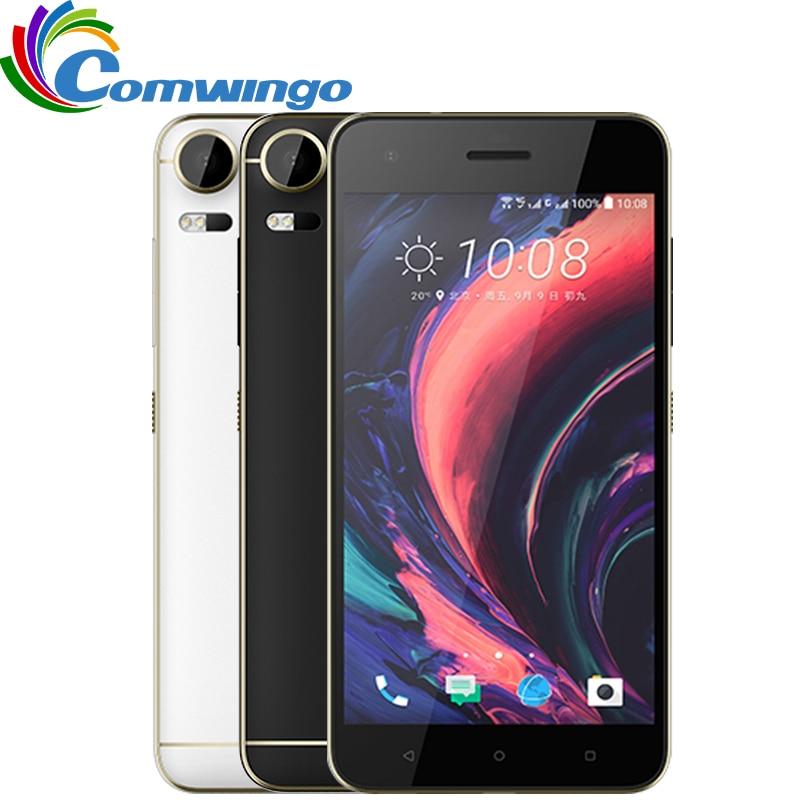 "Original HTC Desire 10 Pro 4GB RAM 64GB ROM LTE Phone Octa Core Dual Sim Android OS Dual SIM 20MP 5.5"" refurbished phone"