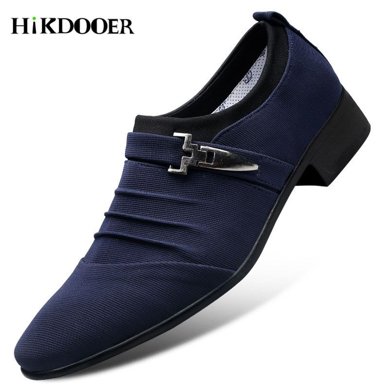 New Arrival Men Breathable Dress Shoes Pointed Toe Slip-on Flat Shoes Top Quality Comfortable Mens Business Party ShoesNew Arrival Men Breathable Dress Shoes Pointed Toe Slip-on Flat Shoes Top Quality Comfortable Mens Business Party Shoes