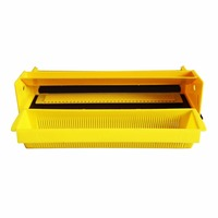 2017 New Arrival Plastic Pollen Collector Removable Ventilated Pollen Tray Bee Honey Hive Beekeeping Accessory Beekeeper
