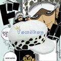 Anime japonés de una pieza del traje de Cosplay Trafalgar Law 2 años más tarde White Hats envío gratis caliente y lindo