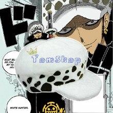 Anime giapponese One Piece Cosplay Costume Hat Trafalgar Law 2 Anni Più  Tardi Bianco Cappelli Caldi e Svegli Trasporto Libero cc8dde7c7688