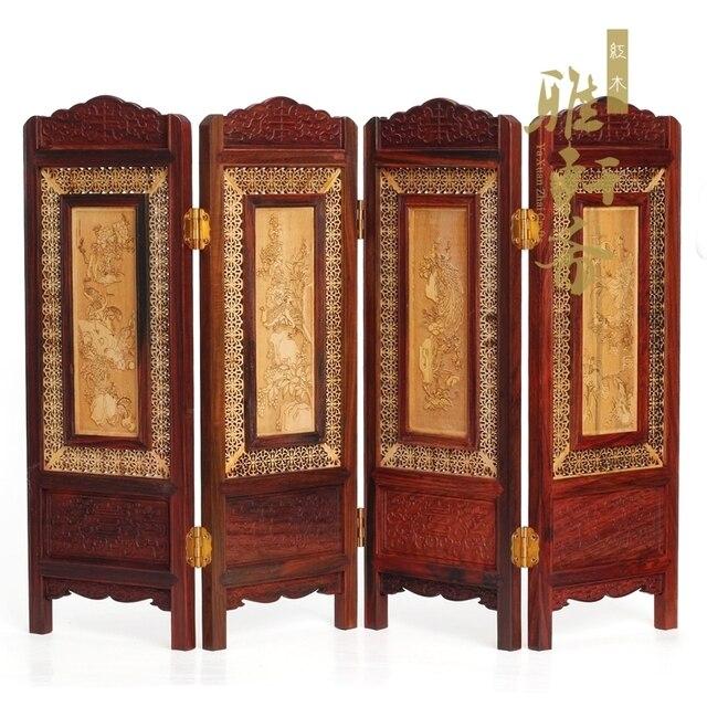 Une Galerie] Zhai Ming et Qing meubles artisanat en acajou bois ...