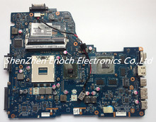 For Toshiba satellite A660 A665 P750 P755 Laptop motherboard HM55 non-integrated K000112480 NWQAA LA-6062P