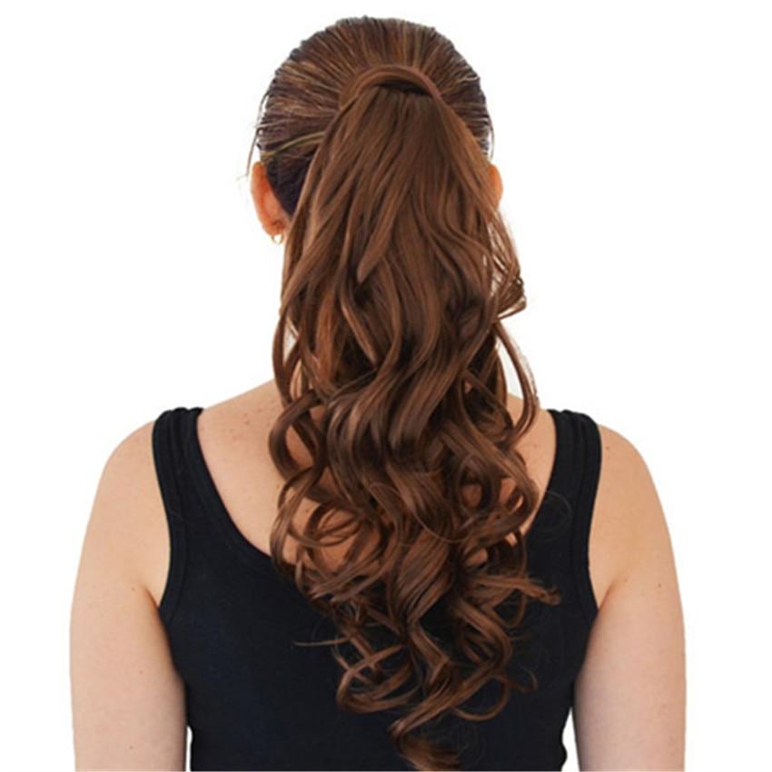 Feibin Pony tail Hår för kvinnor Claw Clip i hårförlängningar - Syntetiskt hår - Foto 2