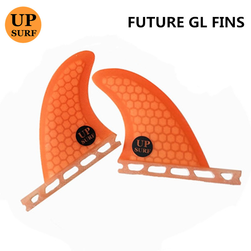 Future Fins SUP Surfboard GL Blue red black green orange Honeycomb Fins Future Rear Fin Quilhas In Surfing in Surfing from Sports Entertainment