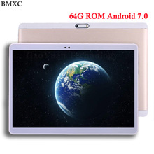 2017 Newest 10 inch 3G 4G FDD LTE tablet Octa core phone call tablet 8.0MP 4GB RAM 64GB ROM Android 7.0 GPS tablet 10 10.1 +Gift