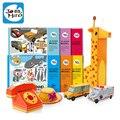 Дети марка мультфильм 3D бумага пазлы игрушки / дети ребенка собирать ломать игрушки для обучения развивающие игрушки