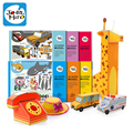 Niños marca cartoon 3D rompecabezas de papel juguetes / niños del bebé ensamble juguetes rompecabezas para el aprendizaje juguetes educativos