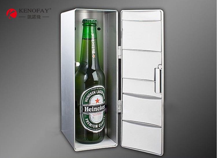 Piccolo Frigo Da Ufficio : Plug & play pratico portatile mini frigo usb desktop da ufficio pc