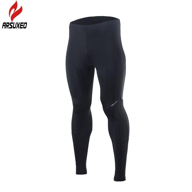ARSUXEO mallas deportivas de compresión para hombre Pantalones para correr  mallas elásticas Fitness Active GYM pantalones 0477805699cc3