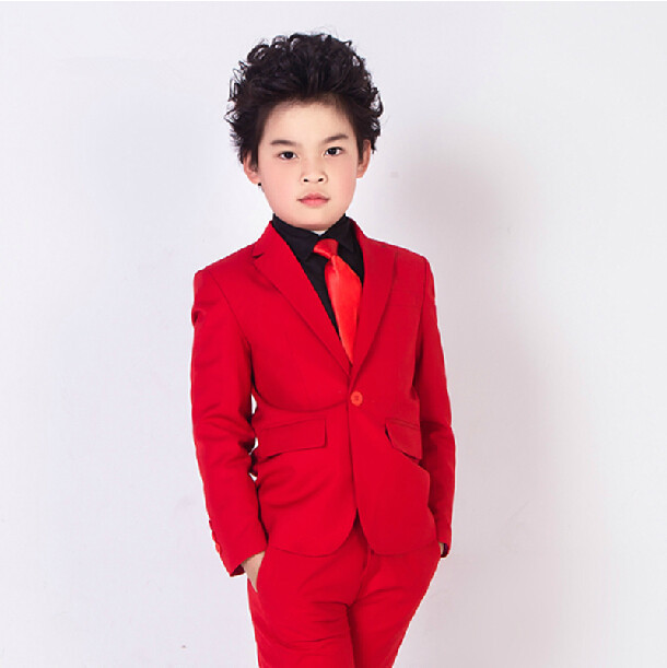 e74ebedd9 2015 fashion baby boys red casual blazers jacket wedding suits for ...