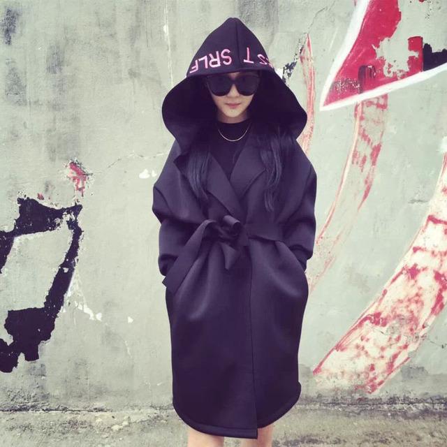 Primavera y otoño ropa de maternidad de invierno abrigos deportivos polvo carta abrigo Con Capucha de la Chaqueta de algodón espacio de las mujeres Embarazadas ropa de abrigo