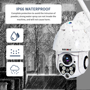 Image 4 - SECTEC 1080P PTZ IP Camera Auto Tracking Speed Dome WiFi Wireless CCTV Camera Outdoor Security Surveillance Waterproof Camera