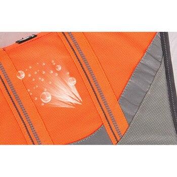 Gilet de sauvetage orange ou jaune