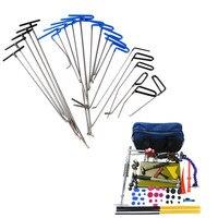 FURUIX инструменты для проверки вмятин Инструменты для ремонта толкателей крючки автомобиля лом ручные инструменты Рессорная сталь стержней ...