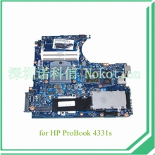658334-001 For hp probook 4331S 4431S laptop motherboard HM65 chipset HD6490M 512M DSC graphics DDR3