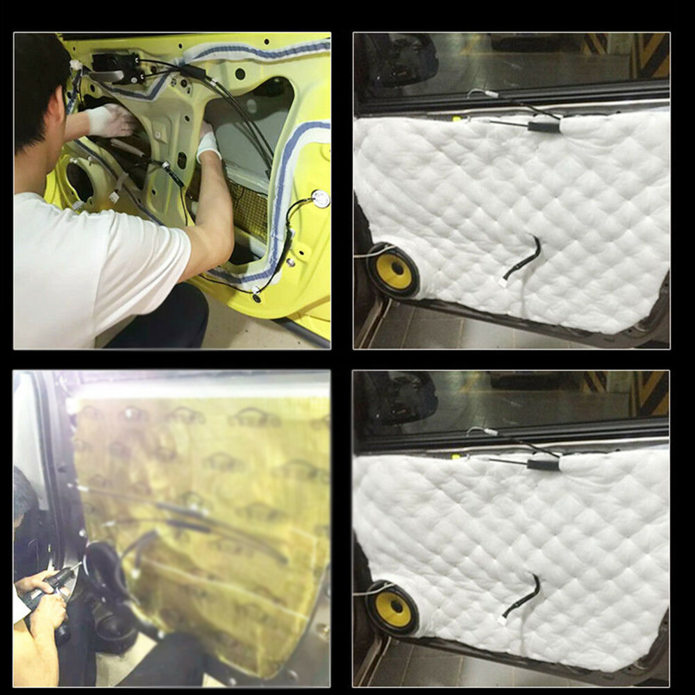Auto Sound Proofing Foam Deadening Cotton Insulation Closed Soft Waterproof Part