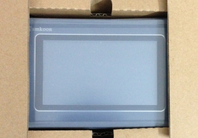 NEW Original SAMKOON 5 Inch HMI Touch Panel SK-050AE, SK050AE with Program Cable & Software, 480 x272, 1 COM Port: RS232/422/485 new original gt1275 vnba hmi 640 480 10 4 inch compatible