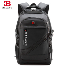 BaLang Brand Design Man Laptop Backpack Mens Travel Bag Waterproof Shoulder Bags for Computer School Nylon Bags Travel Backpack