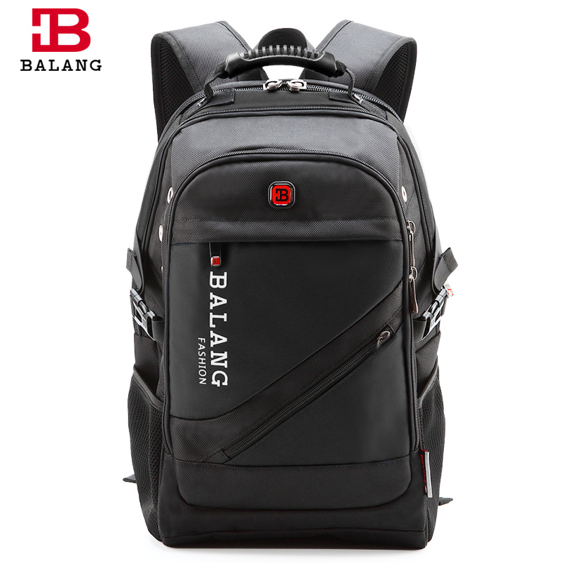 BaLang Brand Design Man Laptop Backpack Men's Travel Bag Waterproof Shoulder Bags for Computer School Nylon Bags Packsacks