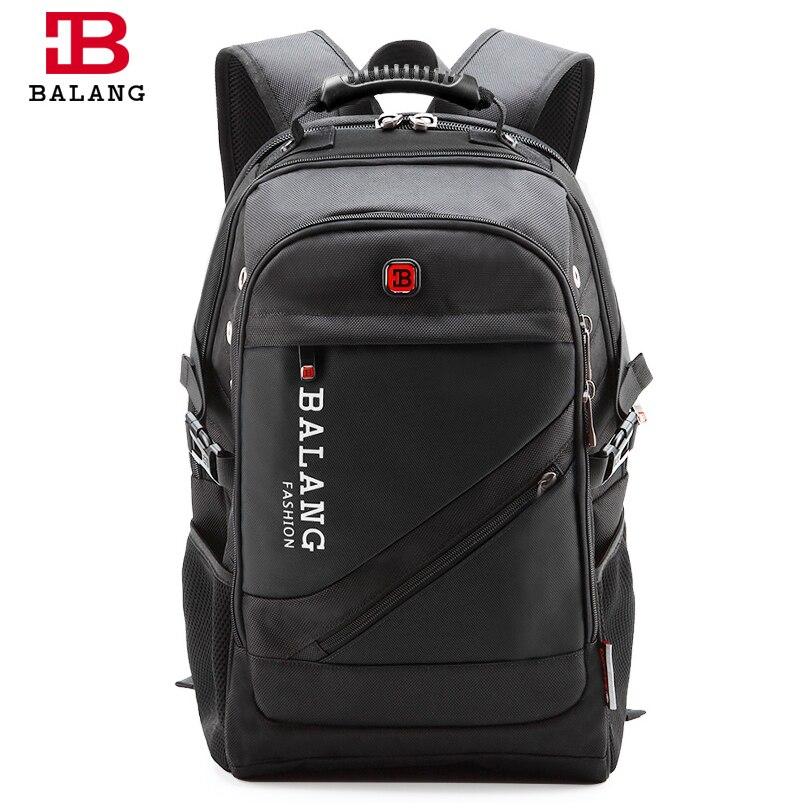 BaLang marque Design homme sac à dos pour ordinateur portable sac de voyage pour hommes sacs à bandoulière étanche pour ordinateur école sacs en Nylon sac à dos de voyage
