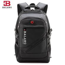 BaLang ブランドデザイン男のラップトップバックパック男性の旅行バッグ防水ショルダーバッグコンピュータ学校ナイロンバッグ旅行バックパック