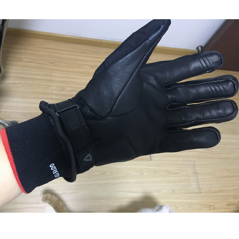 2017 Winter New Warm REVIT KRYPTONITE GTX GORE-TEX Motorcycle Gloves Waterproof Leather Motorbike Gant Moto Racing GLove Gants viking love gore tex