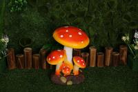Forest theme wedding resin mushroom road lead,table centerpiece ,wedding decoration,stage decor for wedding ,party and event