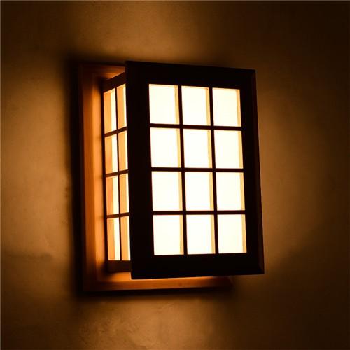 USD drewniana E27 lampa 2