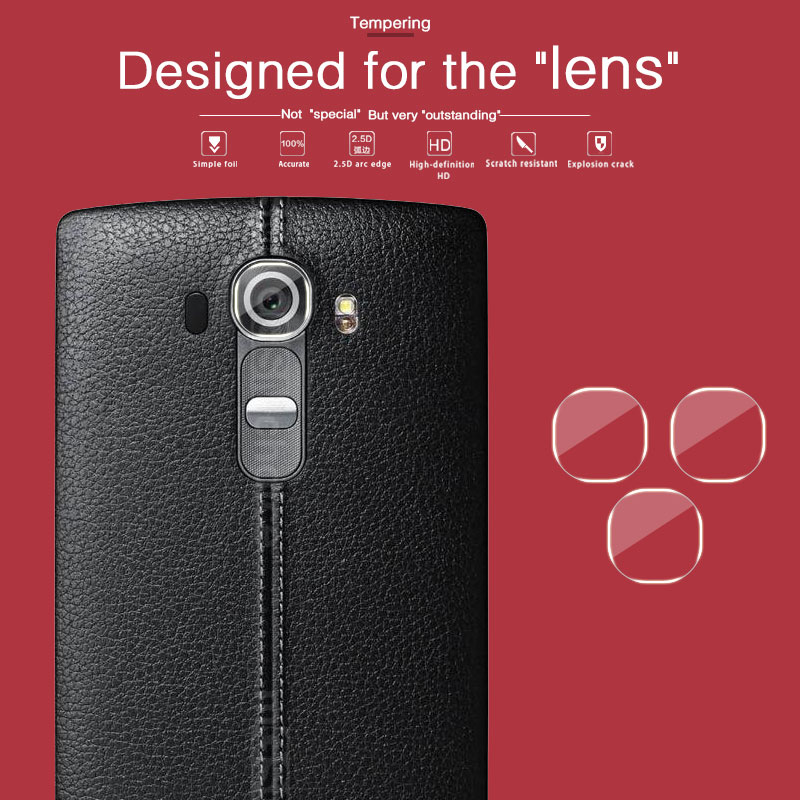 HD Rear Camera Lens Tempered Glass Film For LG G4 F500K H810 H818 VS986 Back Camera Lens Screen Protector Film Protective Glass image