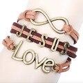 Korea Velvet Beaded Bracelet Lobster Bracelet Bohemia Unisex Bracelet