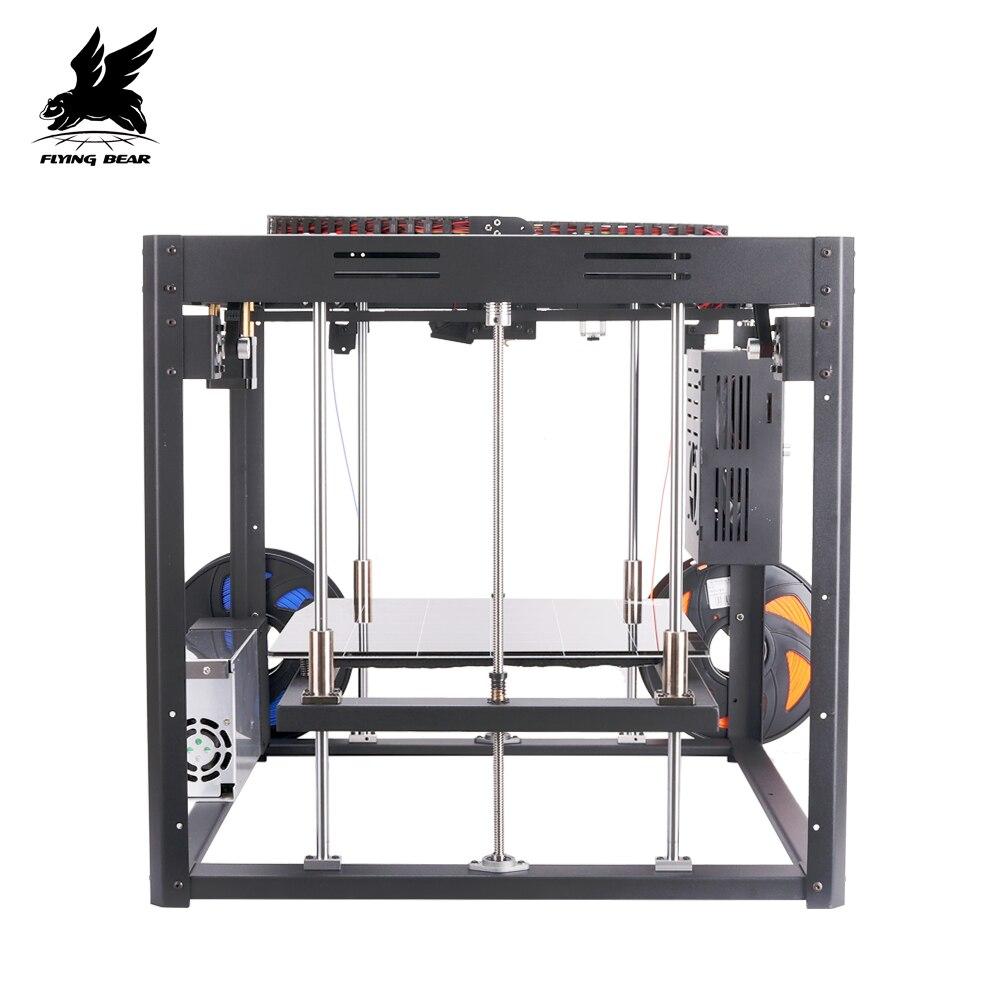2019 Popular Flyingbear Tornado 2  large 3d Printer DIY Full metal Linear rail 3d printer Kit