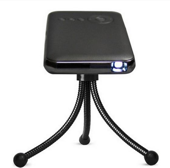 Wi-fi HD 1080 P Android 4.4 Wi-Fi Bluetooth 4.0 DLP СВЕТОДИОДНЫЙ Мини-Проектор proyector проектор для Смартфонов Miracast Airplay suppot