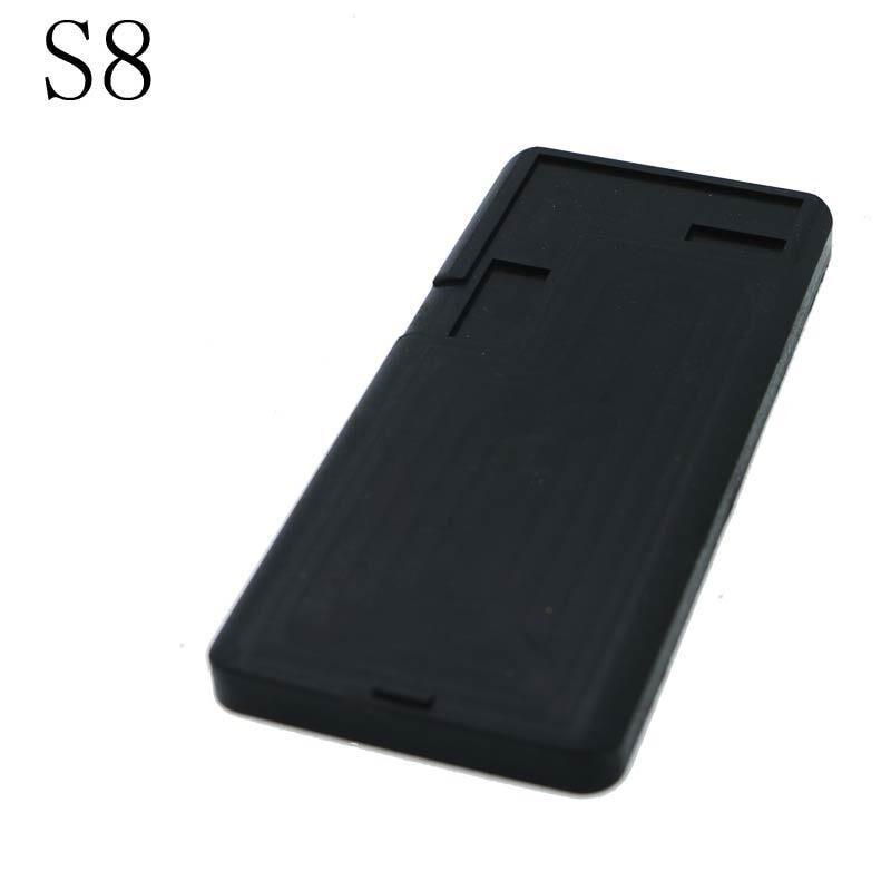 Купить с кэшбэком Silica Gel Precision Mould LCD Separator Tools Accessories For Samsung S6 S7 S8 S9 S9 Plus Edge Repair Laminating Machine Mat