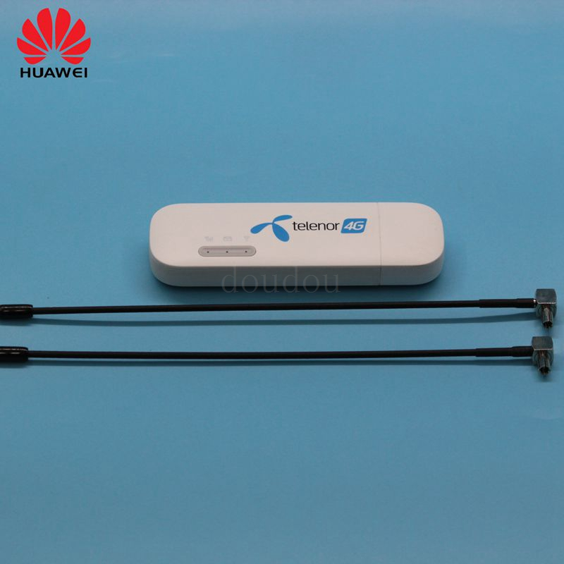 Unlocked New Huawei E8372 E8372h-608 with Antenna 4G LTE 150Mbps USB WiFi Modem 4G LTE USB WiFi Dongle 4G Carfi Modem PK E8377