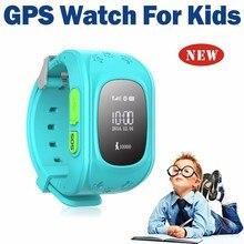 1 unidades App Muñequera reloj Perdido Anti GPS Tracker Reloj Para niños SOS Alarma de Emergencia GSM Teléfono Móvil Inteligente Para Smartwatch lindo