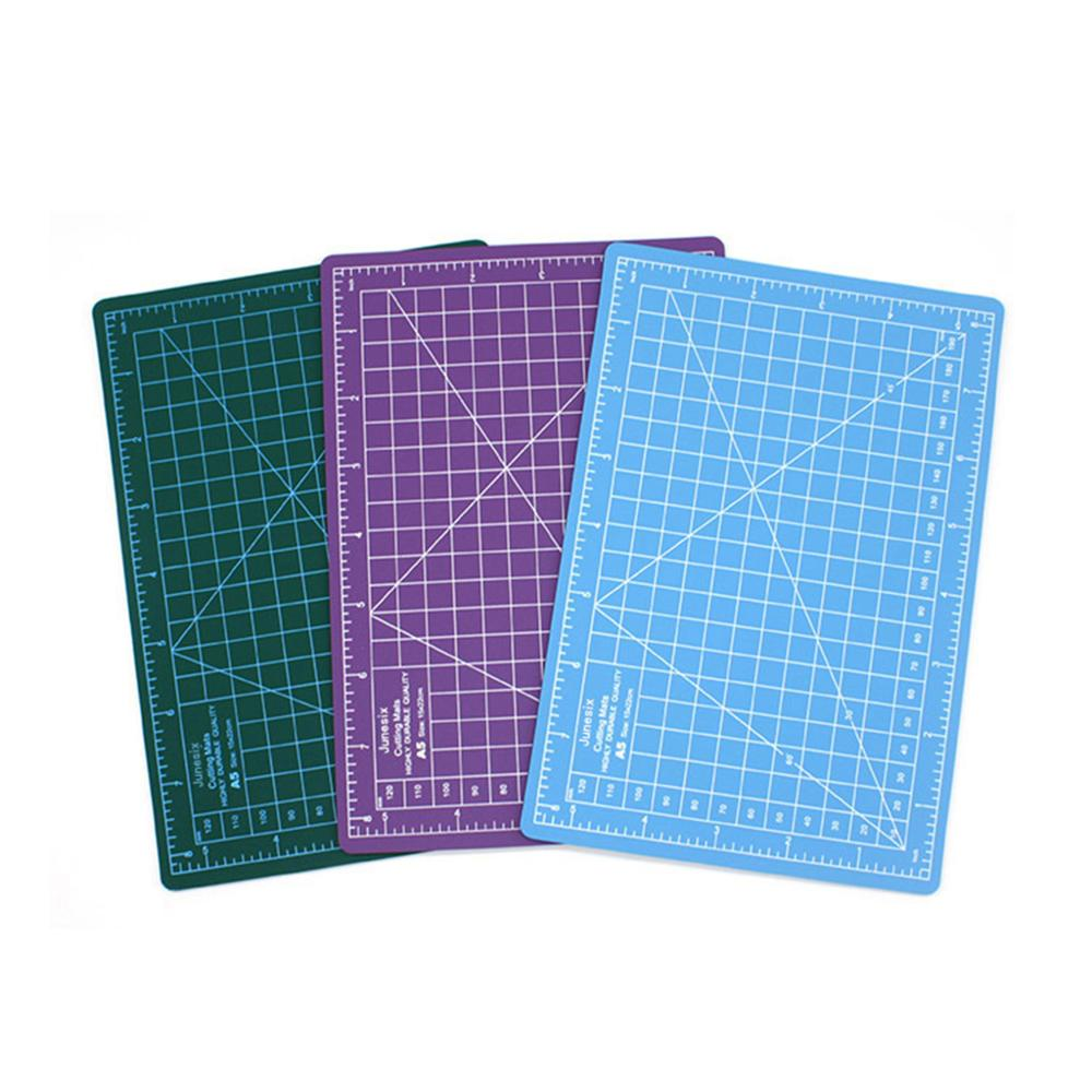 A5 Cutting Board Manual Model Multi-Purpose Model Cutting Pad Rubber Stamp Engraving Pad Measuring Scale Board