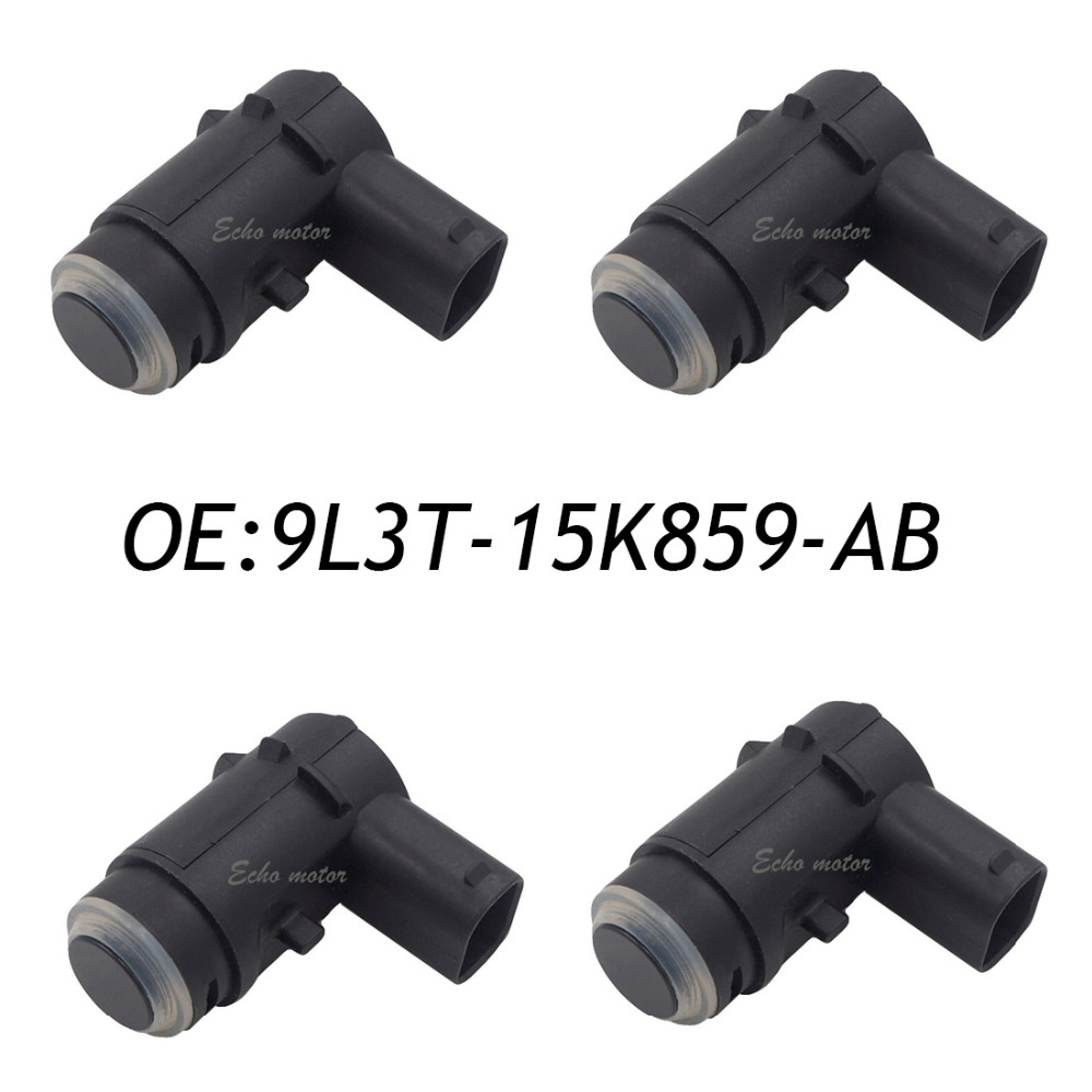 New 4PCS PDC Bumper Backup Parking Sensor For Ford 9L3T-15K859-AB 9L3Z15K859D With O-Ring